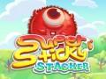 Játékok Super Sticky Stacker