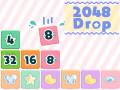 Játékok 2048 Drop