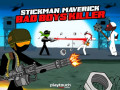 Játékok Stickman Maverick: Bad Boys Killer